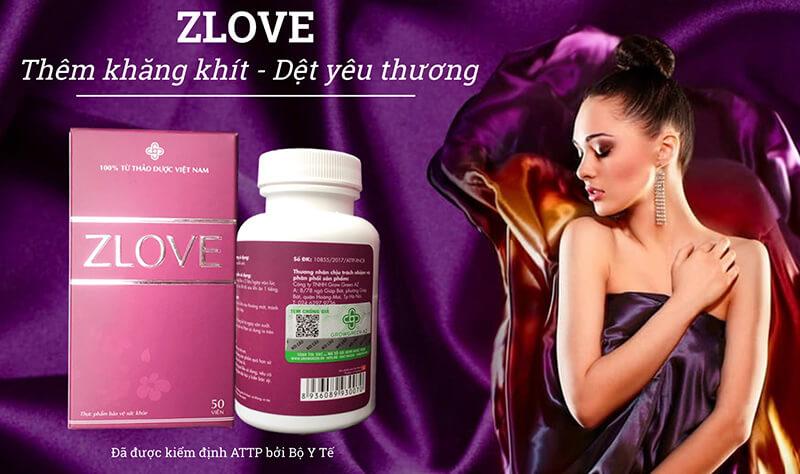 Viên Uống Zlove: se khít âm đạo về tuổi 18