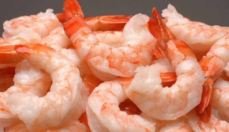 Tôm là thực phẩm chứa nhiều kẽm. Nam giới có thể ăn món miến xào tôm để chất lượng tinh trùng được nâng cao.
