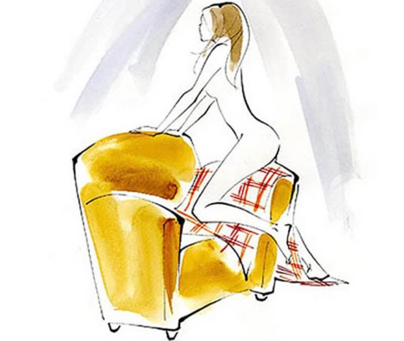 Tư thế thủ dâm nóng bỏng trên ghế – Couch Grind