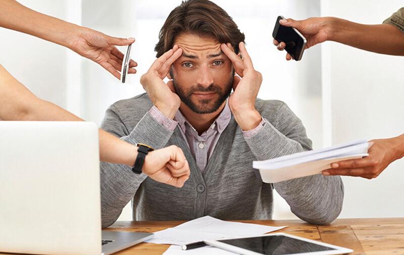 Stress lâu ngày khiến đấng mày râu không còn mặn mà với đời sống tình dục