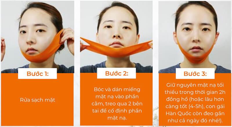 Cách sử dụng mặt nạ V line Konad ILOJE V tox Lifting Mask để đạt hiệu quả cao.