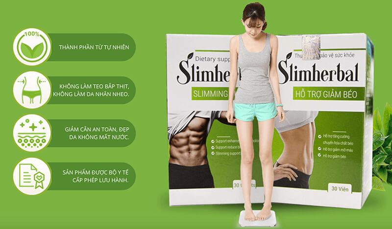 Giới thiệu về sản phẩm viên uống Slim Herbal