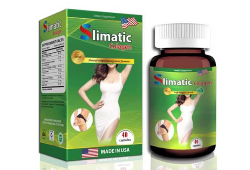 Giới thiệu về sản phẩm viên uống giảm cân Slimatic Collagen