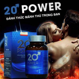 20 POWER - Lấy lại phong độ phái mạnh
