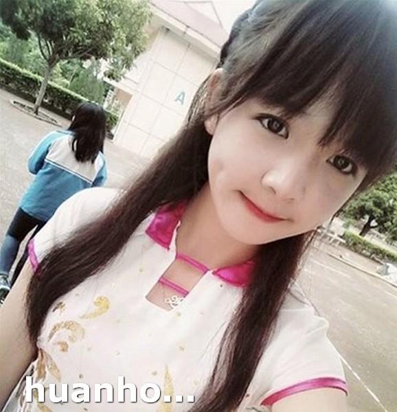 Ảnh chụp năm lớp 9 của Huyền Châu đã giúp cô nổi tiếng từ đó.
